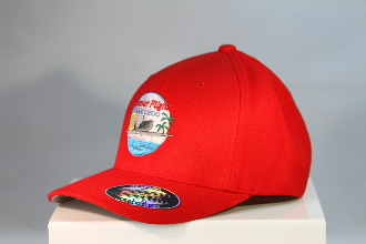 HFSD Embroidered Logo Hat Red
