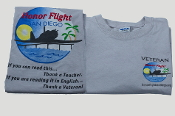 Official Honor Flight San Diego Logo Veteran T-Shirt